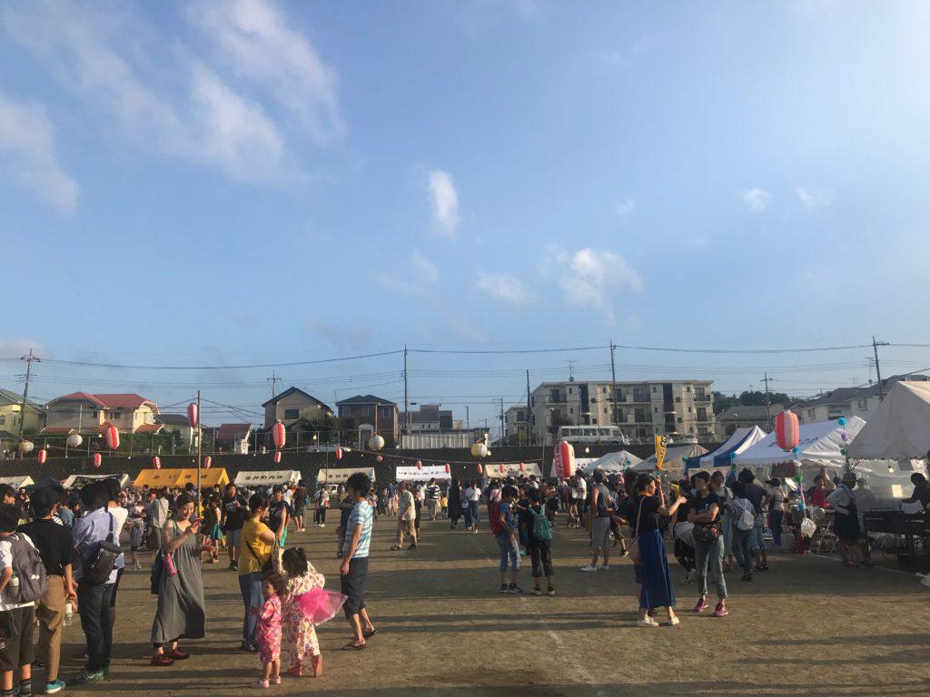 金井盆踊り大会